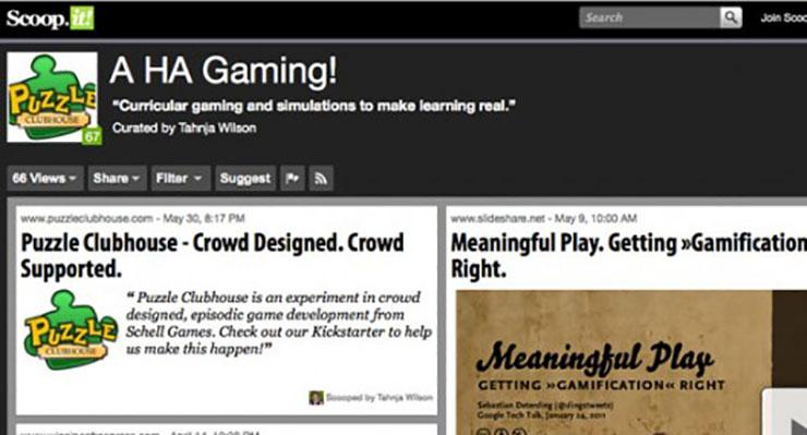 A HA Gaming! Curricular gaming and simulations to make learning real.
