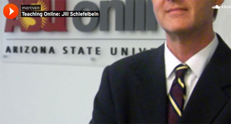 Teaching Online Podcast: Jill Schiefelbein