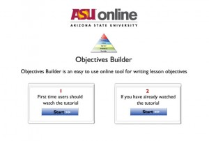 RadioJames Objectives Builder