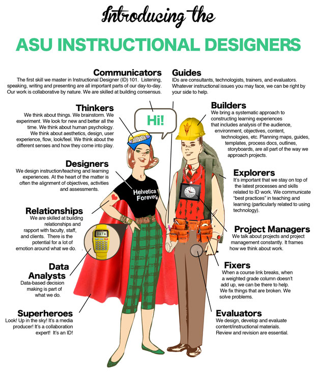 Introducing the ASU Instructional Designers