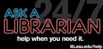 Ask a Librarian: help when you need it