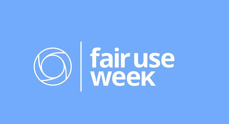 Fair Use Week – Fair Use in Online Instruction