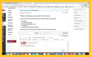Screenshot showing the embed box in Submission area.