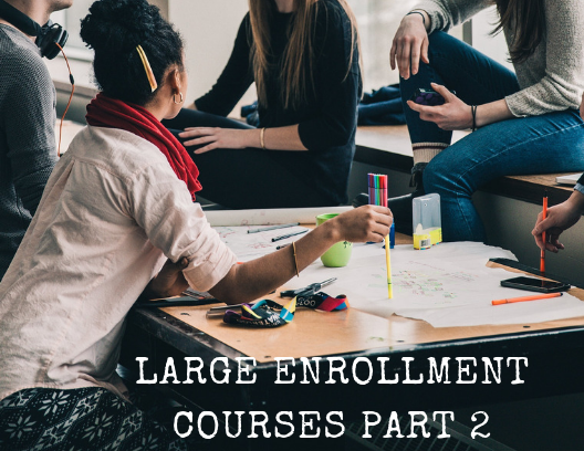 Best Practices for Large-Enrollment Online Courses, Part 2: Managing groups, peer review, and other peer-to-peer interactions